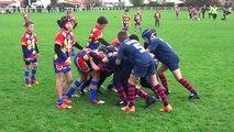 Capbreton Tyrosse  1ère mi-temps Rugby Benjamin 29-11-2014