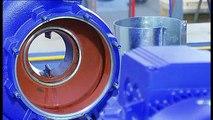 (3 из 10) Демонтаж KSB Etanorm: рабочее колесо/щелевые кольца