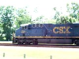 419) CSX 802 Leads The CSXT T109-28 at Folkston, Georgia on Saturday May 30th, 2009