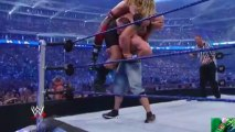 WWE Unbelievable Moment. John Cena Lift Big Show & Edge at the same time. John Cena is one of the best wrestler in wwe.