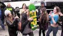 Justin Bieber fait une belle chute en skateboard