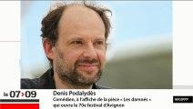 """Denis Podalydès : """"Il y a dans l'art la possibilité de dépasser tous les clivages"""""""