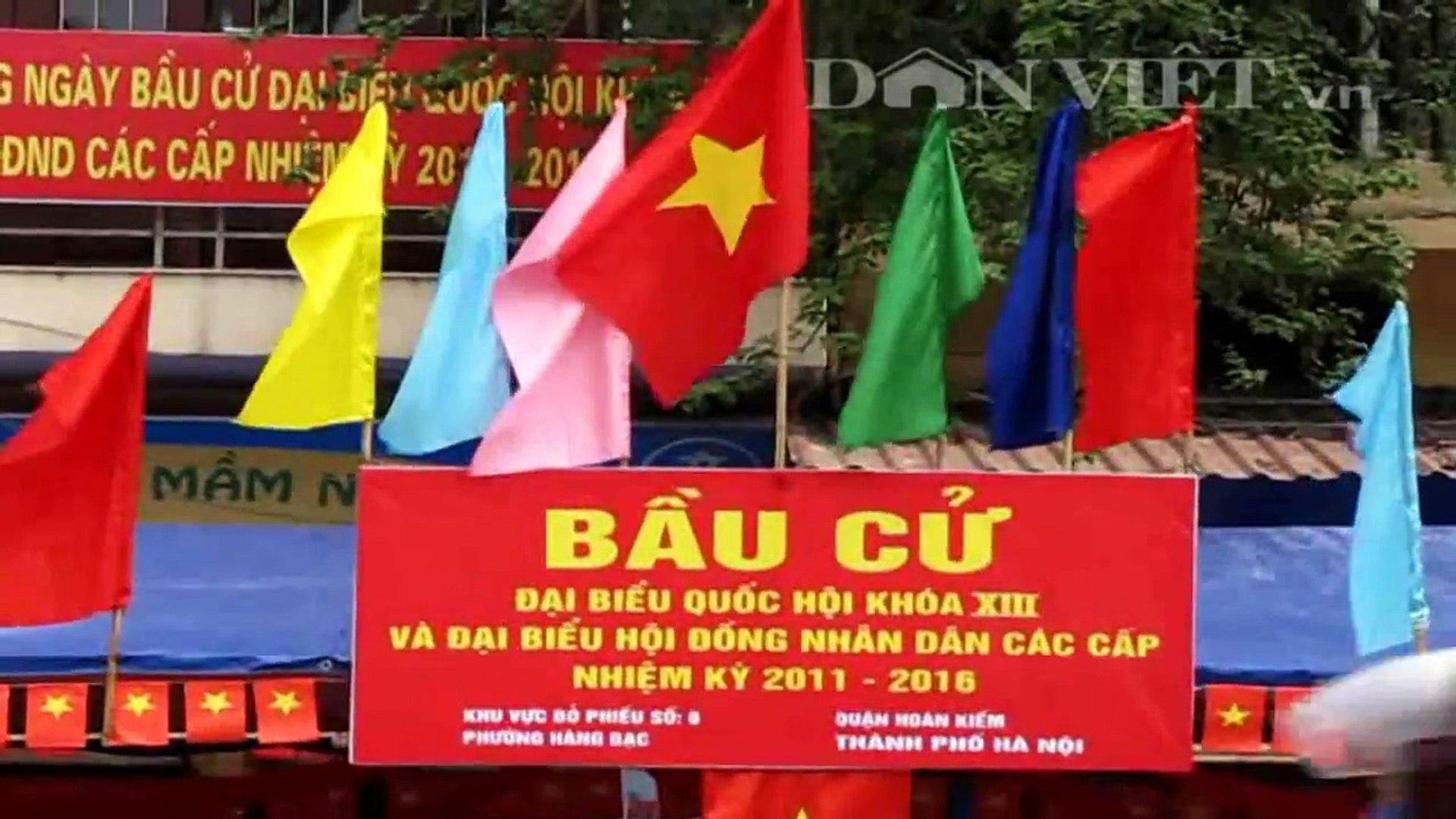 Bầu cử quốc hội ngày 22 - 5 - 2011