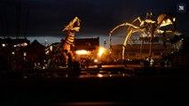 Timelapse : le cheval-dragon Long Ma affronte l'araignée géante Kumo Ni