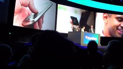 BlackBerry 10 Keyboard Demoed at BlackBerry World 2012 - N4BB.COM