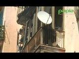 Napoli - In fiamme appartamento, paura a Bagnoli (05.07.16)