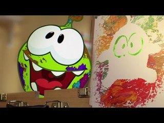 Om Nom et l'Art | Dessin Animé pour les enfants | Om Nom en Français | Épisode 7