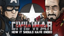 How Captain America- Civil War Should Have Ended