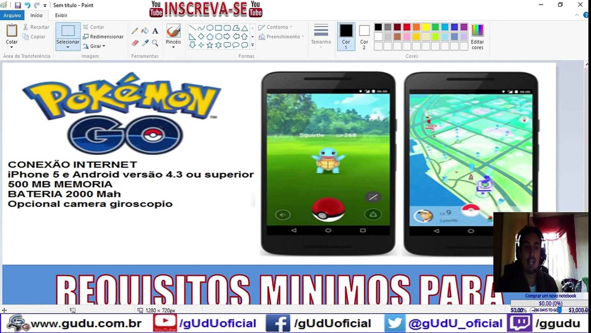 Requisitos minimos para jogar Pokémon GO Diário de um Mestre Pokémon | Pokémon GO