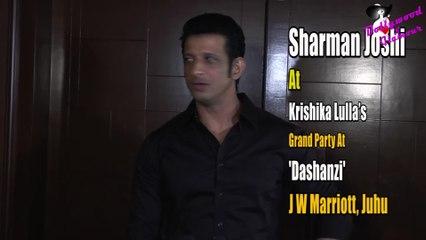 Sharman Joshi At Krishika Lulla's Grand Party At 'Dashanzi, JW Marriott, Juhu