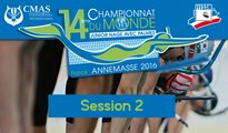 Day 1, Session 2 - 14th World Junior Finswimming Championship