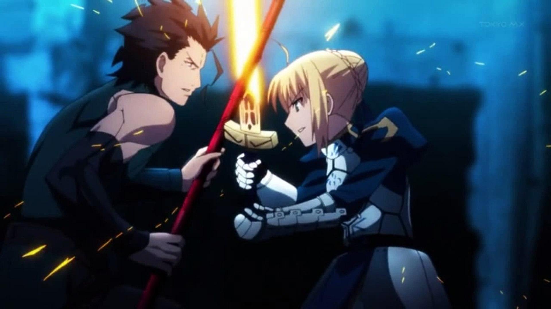 Fate Zero Saber Vs Lancer Sub Ita Final Video Dailymotion
