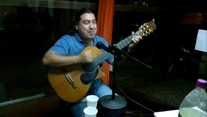Aldo y la Zamba  en vivo  10 en el Programa de Folklore Los Caballeros de la Mesa Redonda -