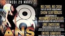 SOIRÉE ANNIVERSAIRE 8 ANS DU B-FLOOR : SAM 29 MARS 2014