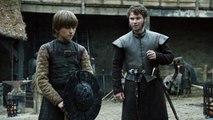 Game of Thrones 6x02 flashback Winterfell Ned, Benjen and lyanna stark