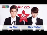 Huy Nam vs. Huy Khánh | LỮ KHÁCH 24H | Tập 225 | 060714