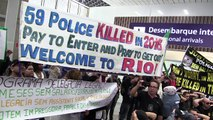 """""""Bienvenidos al infierno"""": dicen policías a turistas en Rio"""