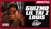 Gros freestyle de Guizmo avec Lil Tai Z et Louis dans Planète Rap [Part. 3]