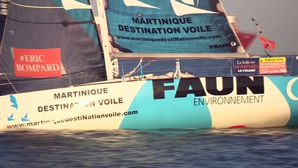 Solitaire Bompard Le Figaro - 4ème étape La Rochelle - La Rochelle ( depuis vedette 1 )