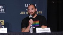Travis Browne wants the title shot with a win over Velasquez