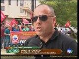 Protesto Galp (27/10/2014) - Record TV Portugal