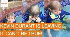 Kid Gets Emotional About Kevin Durant Leaving Oklahoma City Thunders