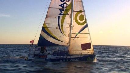 Solitaire Bompard Le Figaro - Yoann RICHOMME - Skipper MACIF 2014