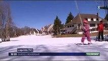 Reportage FR3 - Station de ski Laguiole - 19 Mars 2014