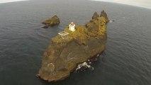Þrídrangar, un phare au milieu de nulle part