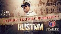 Rustom [2016] - [Official Trailer] FT. Akshay Kumar & Ileana DCruz & Esha Gupta [FULL HD] - (SULEMAN - RECORD)