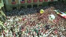 Espagne: début des fêtes de la San Fermin à Pampelune