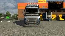 Euro Truck Simulator 2 + Logitech G27: Volvo FH 2012 BDF * TANDEM * - Bremen to Kiel