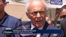 Obsèques de Michel Rocard: Hommage national aux Invalides