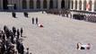 Les images de l'hommage à Michel Rocard aux Invalides