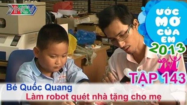 Giúp các bạn khó khăn - Trần Phan Thanh Hà | ƯỚC MƠ CỦA EM | Tập 145