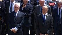 """Hollande : """"Michel Rocard a cultivé l'utopie du possible. Il nous laisse une démarche : celle du compromis, véritable fondement de la sociale démocratie"""""""