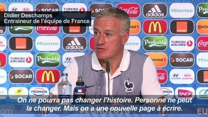 """Euro 2016: la France a """"une nouvelle page à écrire"""""""