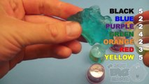 Learn Colours With Ooze and Glitter Putty! Fun Learning Contest!_17