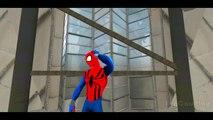 Spiderman & his Super-Auto ft Frozen Elsa Custom McQueen Cars w- Children Nursery Rhyme with Action_1