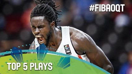 Top 5 Plays - Day 3 - 2016 FIBA Olympic Qualifying Tournament - Philippines
