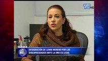 Designación de Lenin Moreno por las discapacidades ante la ONU es legal
