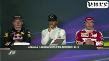 F1 (2016) Austrian GP - Post race press conference