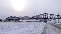 Fleuve St-Laurent, St-Lawrence River at -33.9°C(-29°F), jan 2nd 2014