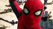 Spider-Man Selfie Taken by Tom Holland on Spider-Man Homecoming Set