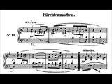 Jörg Demus plays Schumann Kinderszenen Op 15 - 11  Fürchtenmachen