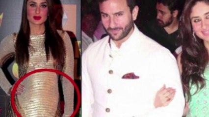 Pregnant Kareena Kapoor Shows Off Her Baby Bump    Bollywood News    News Adda