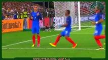 أهداف مباراة فرنسا و ألمانيا 2-0 نصف النهائي  يورو 2016 تعليق - رؤوف بن خليف  + يوسف سيف