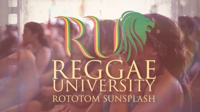Rototom Reggae University 10 @ Rototom Sunsplash 2016