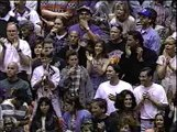 Showtime Lakers 1985 NBA Champions 10-year Anniversary Ceremony 1995 Chick Hearn