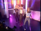 Atomic Kitten-(LIVE)With Kerry Right now (TOTP, 10-12-1999)